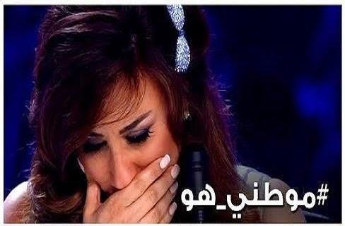 متسابق مصرى يبكى لجنة تحكيم برنامج  Arabs Got Talent
