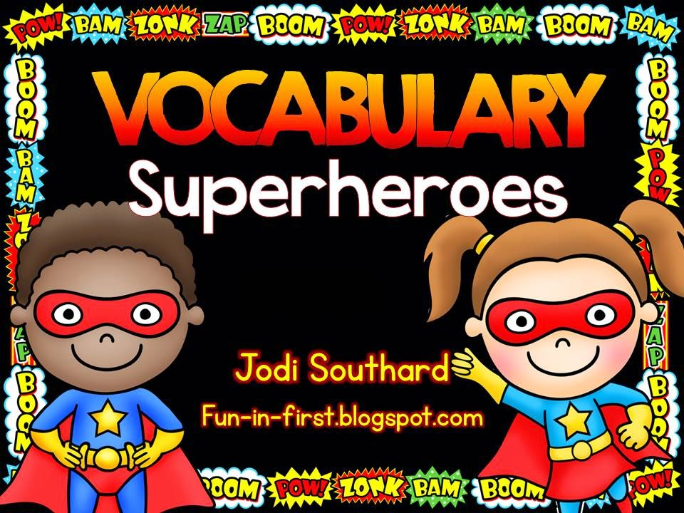 http://www.teacherspayteachers.com/Product/Vocabulary-Superheroes-1051749