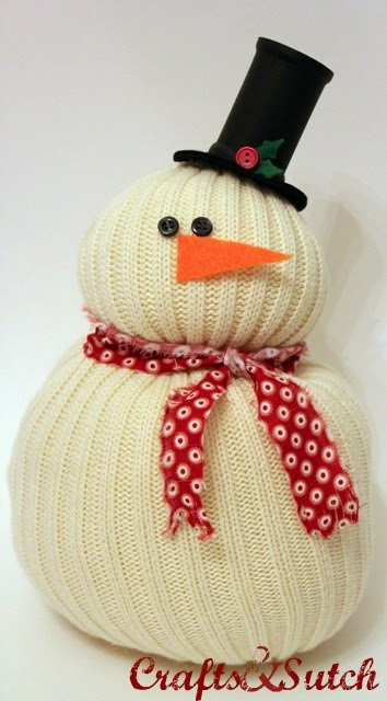Recycling arts and crafts amazing unusual diy snowman