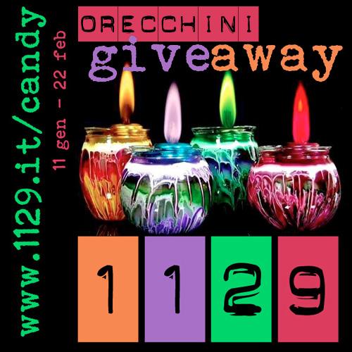 Giveaway oreccchini 1129