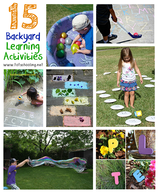 15 Backyard Learning Activities