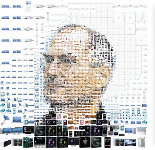 40 Lukisan Steve Jobs yang Mengagumkan: The Man in the Products