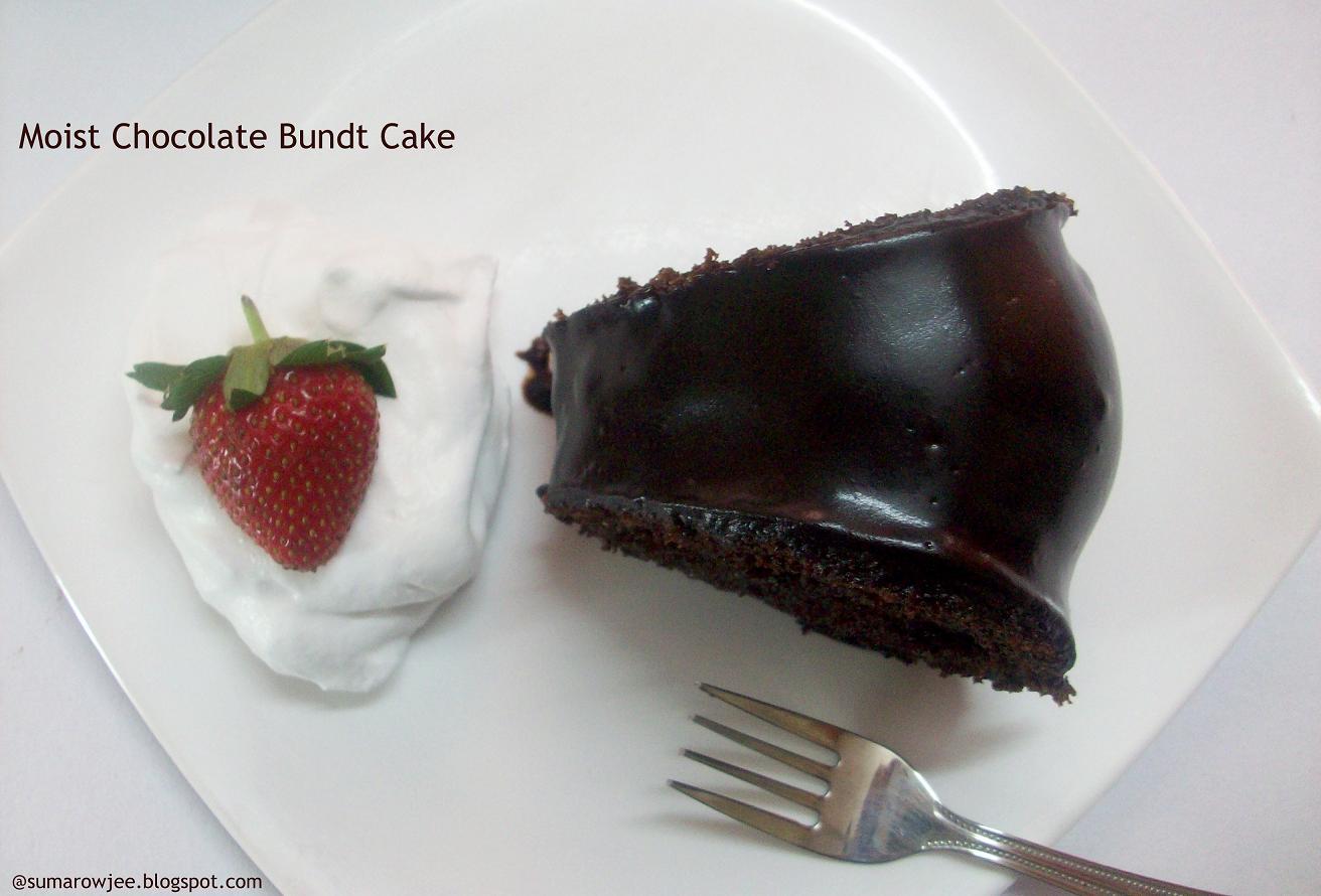 Moist Microwave Chocolate Cake Recipe
