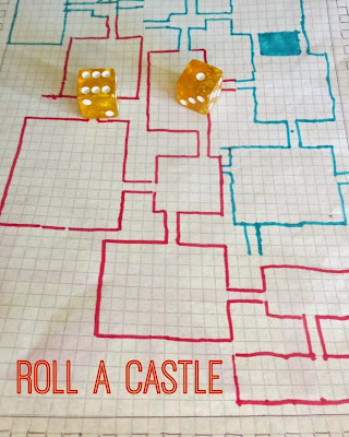 Explore multiplication. division, and area with Roll-a-Castle