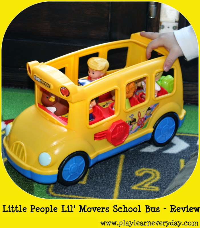 Fisher Price - Little People Lil\' Movers School Bus - Review ...
