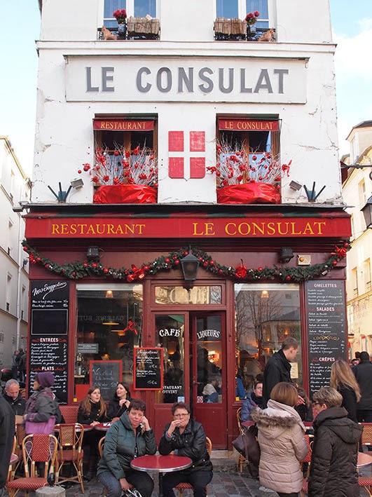 Restaurant Le Consulat - Montmartre