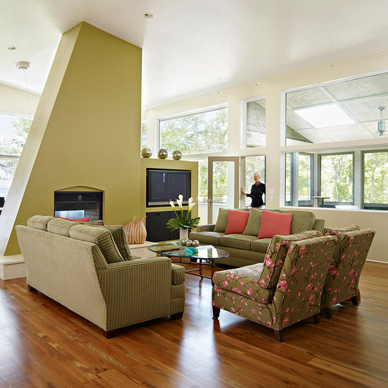 Modern furniture 2012 cozy colorful living rooms design ideas for Modern living room design ideas 2012