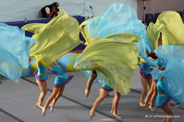 Rhythmic Gymnastics floor program III
