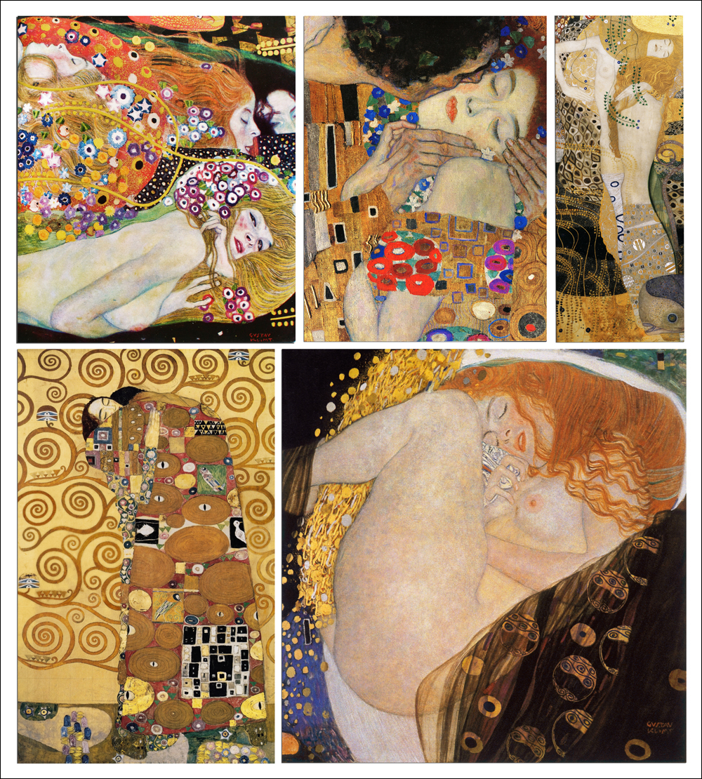 beauty and sensuality in the art works of gustav klimt She was the mona lisa of austria - her mysterious beauty enthralled everyone who saw her for years, she was simply called the woman in gold - her portrait seen as testament to the genius of the artist, gustav klimt.