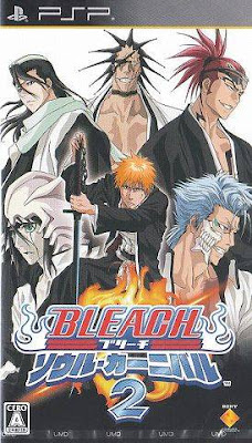 Download Bleach Soul Carnival 2 - PSP Game Mediafire/Jumbofiles/Bellionuploads/Rapidshare/Direct Link