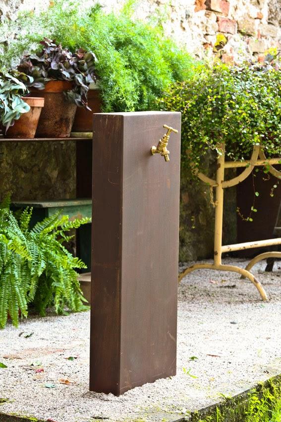 Il giardino di corten eleganza ricercatezza eternit - Il giardino di ausonia ...