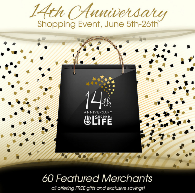 Second Life's 14th Anniversary