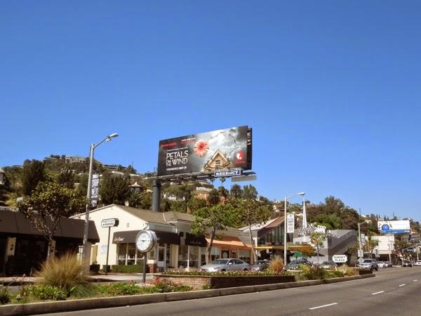 Petals on the Wind Lifetime billboard