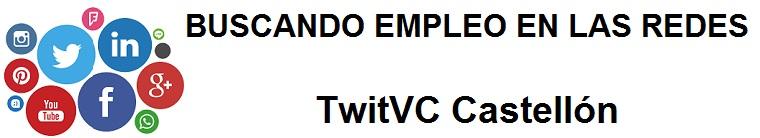 TwitVC Castellón. Ofertas de empleo, Facebook, LinkedIn, Twitter, Infojobs, bolsa de trabajo, curso