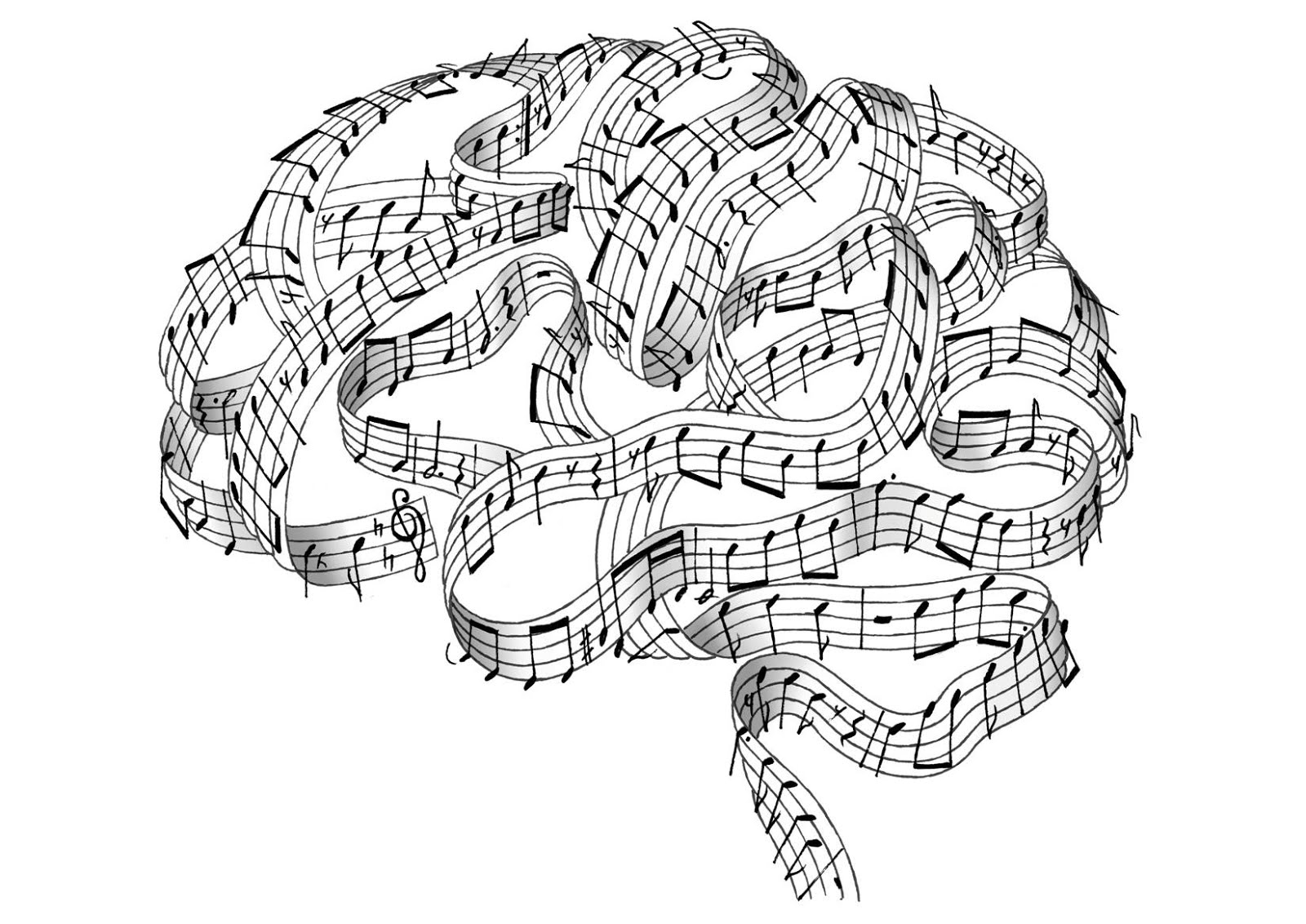 La música me hace pensar