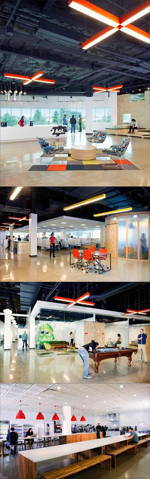 desain kantor modern Aol
