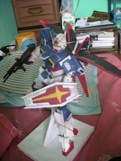 Force Impulse Gundam Papercraft-1