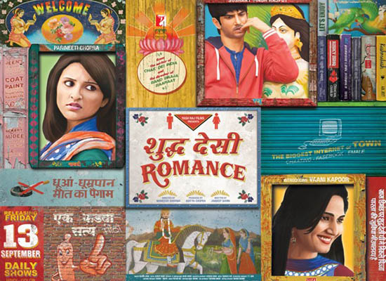 Shuddh Desi Romance (2013), Shuddh Desi Romance Mp3 Songs, Shuddh Desi Romance Hindi Movie Mp3 Songs Free Download