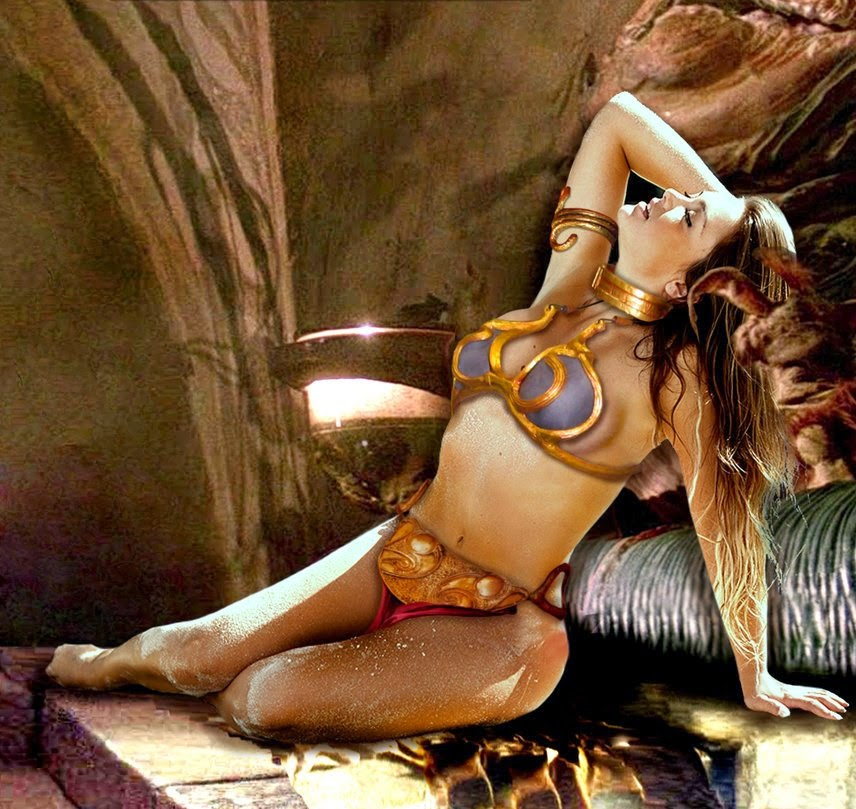 Caren Souza/Princess Leia Slave/Jabba Hutt