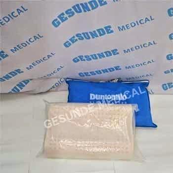 grosir bantal dunlopillo sintetis latex bergelombang