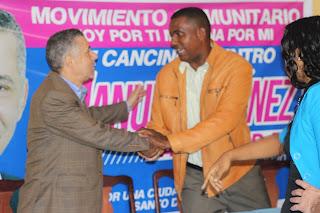 Manuel Jiménez recibe respaldo de Movimiento Comunitario en Cancino Adentro
