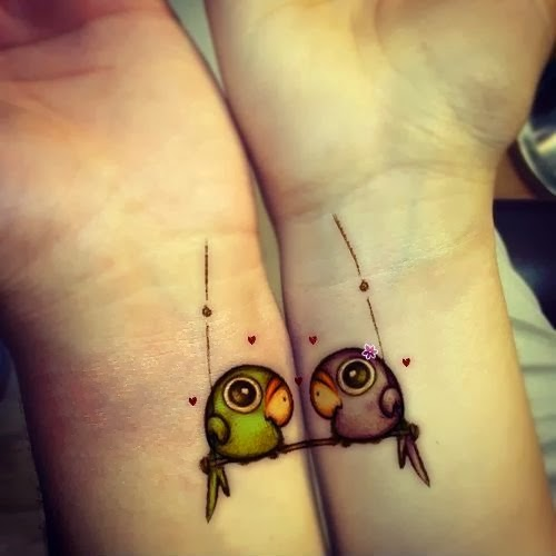 Tattoos for Couples, part 1
