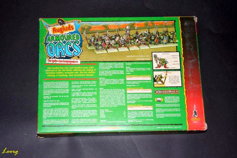 Contraportada de RRD5 - Ruglud's Armoured Orcs - The Spike-Can Commandoes