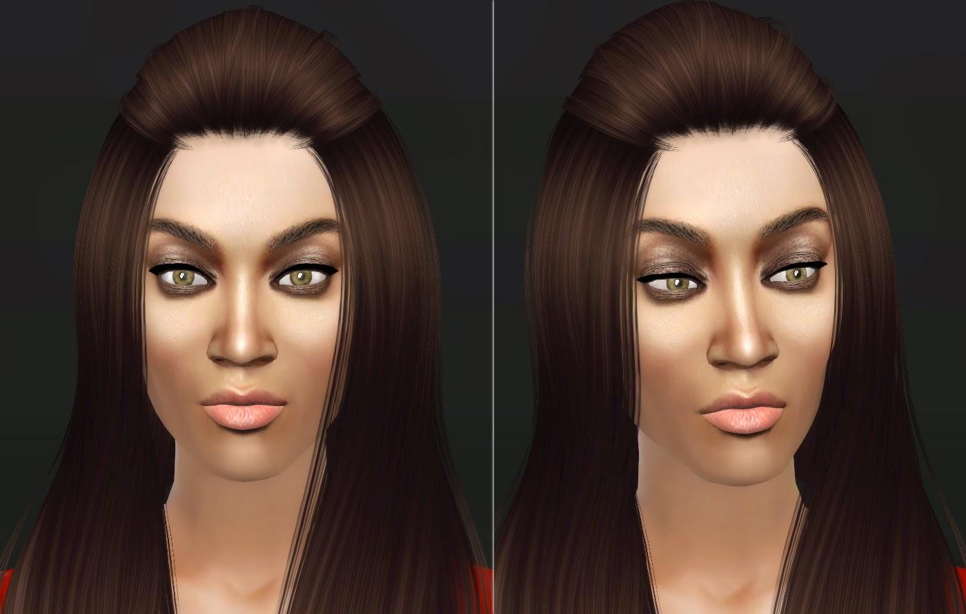 lunararc sims : tyra banks - the smize queen