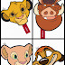 The Lion King Free Printable Masks.