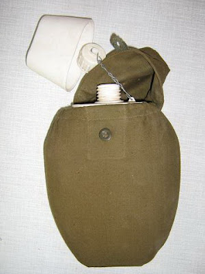 Russian Army Plastic Canteen