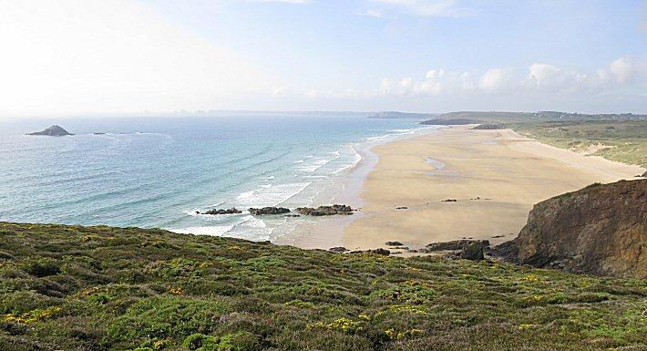 Les 3 plages de Kerdreux, la Palue et Lostmarc'h