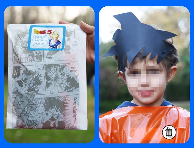 cumpleaños ideas Son Goku by Fiesta y chocolate