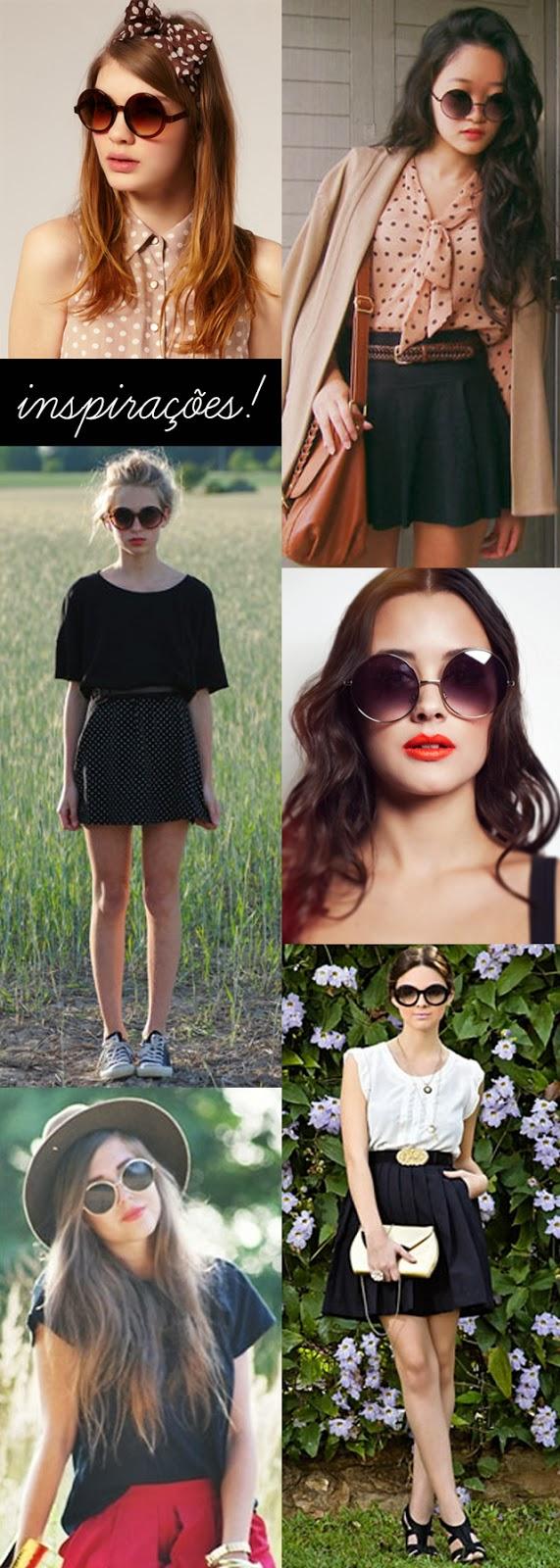 óculos round, estilo, anos 70, moda, sol, verão