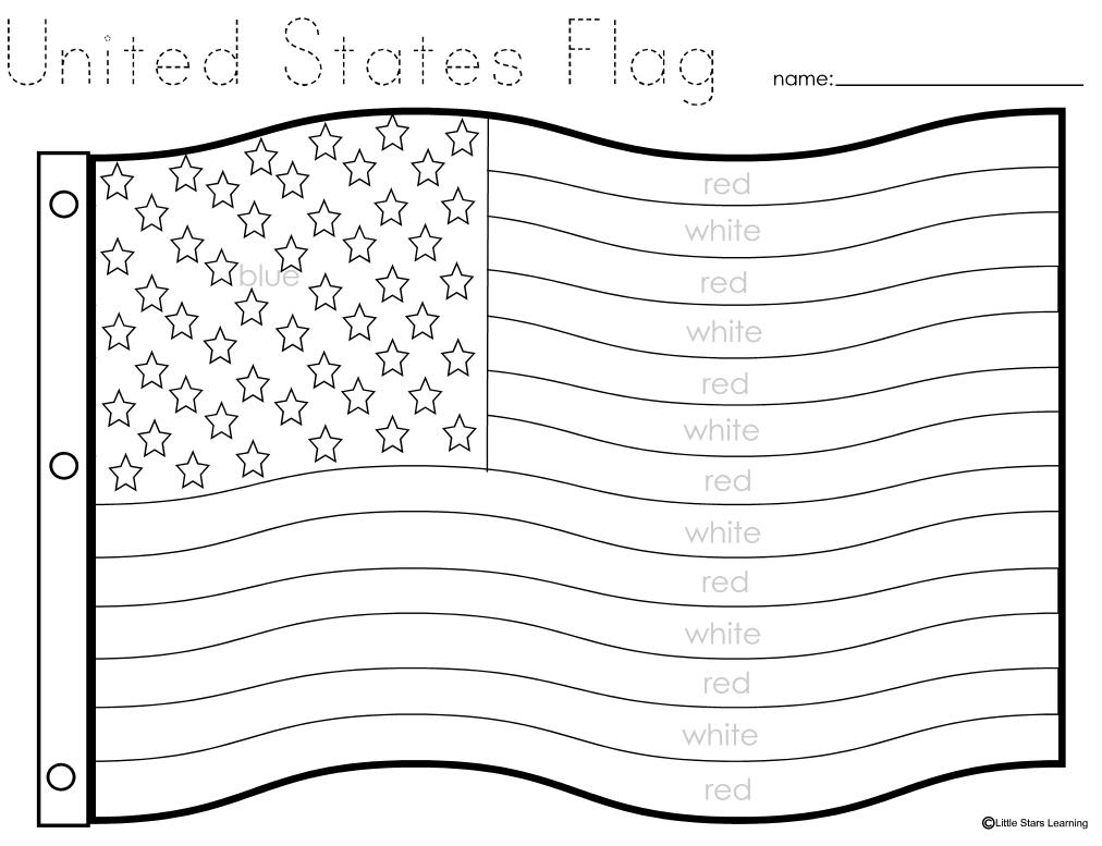Flag Day Coloring Pages For Kindergarten Coloring Coloring Pages