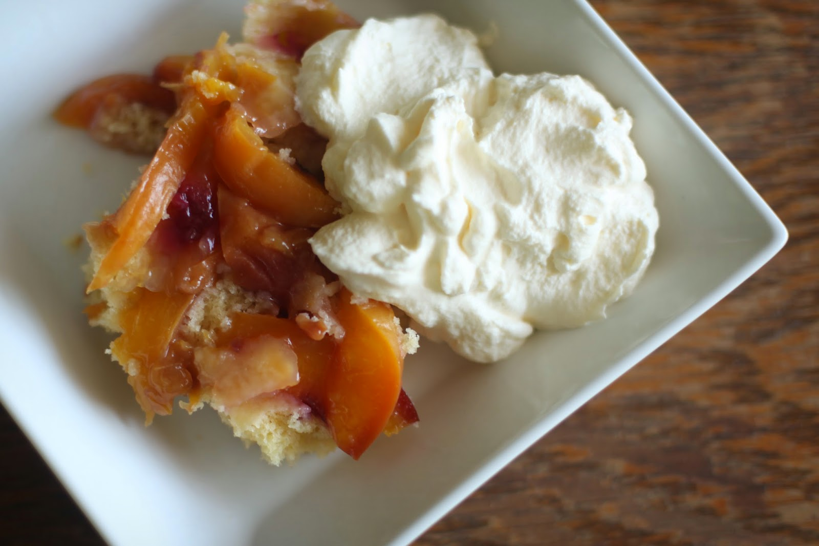 nectarine cobbler recipe