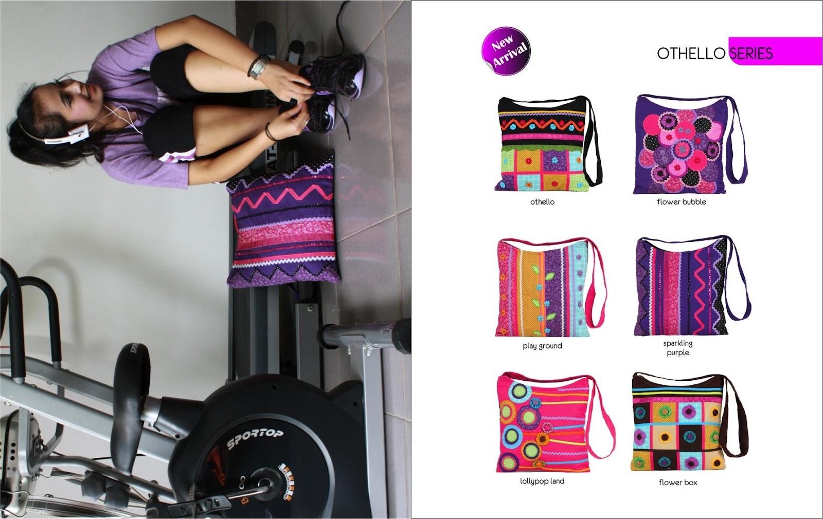Tas Etnik Cantik Wanita Online Laptop Waist Bag Barca Maika Murah Gaul