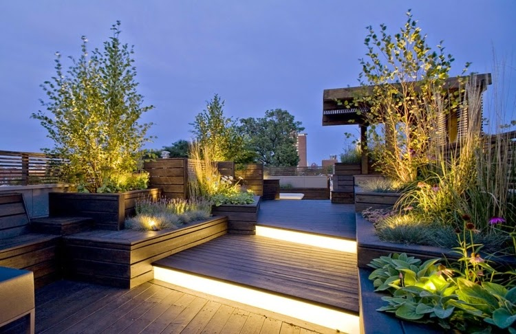led garden lighting ideas for your garden