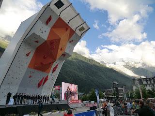 Muro de Chamonix 1º Copa del Mundo