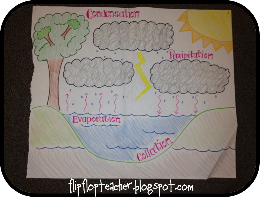 ... Grade Science Clouds And Water Cycles. on 4th grade water cycle chart