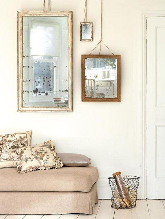 Specchi e cornici idee per arredare - Specchi in casa ...