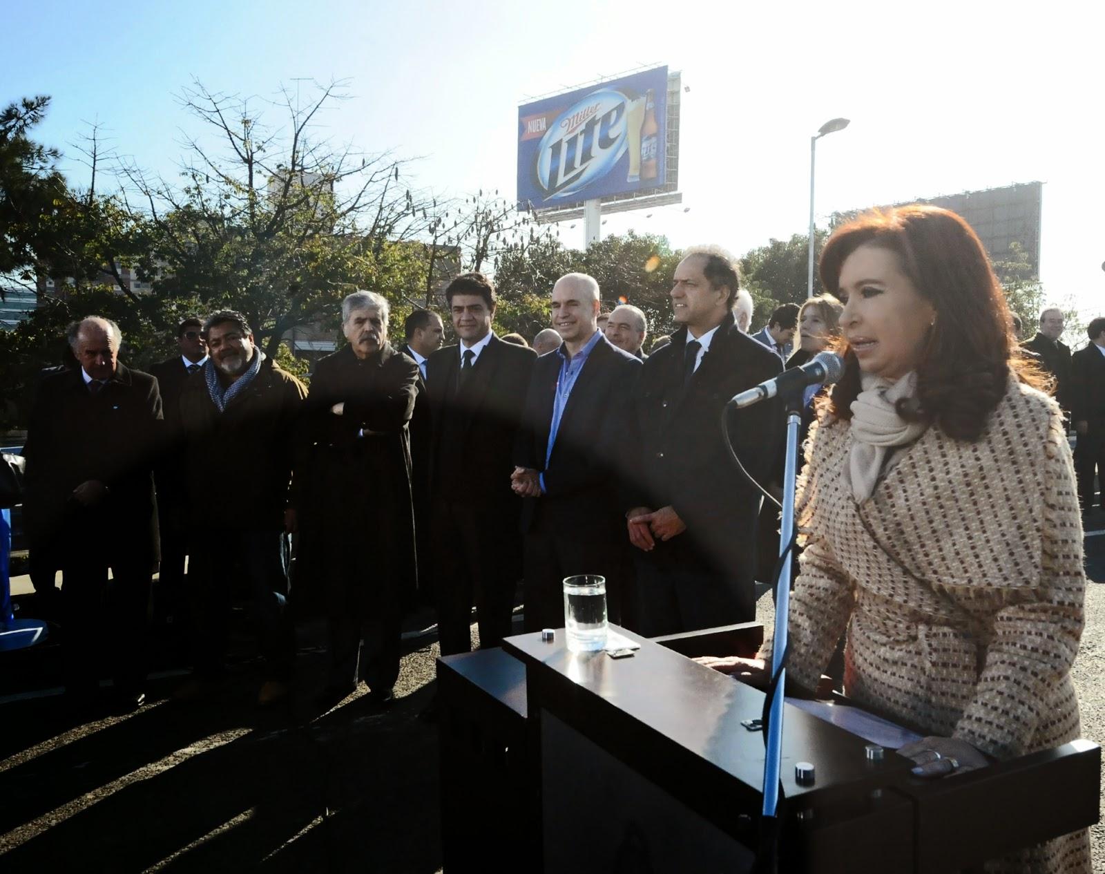 El presidente del bloque de concejales FPV de Vicente López destacó obras inauguradas por la Presidenta