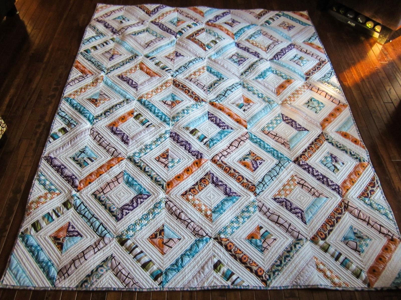 Sue Daurio's Quilting Adventures: DWM - Labyrinth quilting : tube quilt pattern - Adamdwight.com