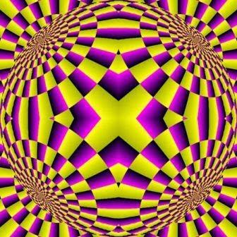 ilusiones opticas, movimiento, bola que gira, efectos visuales, ilusiones ópticas, esfera que se mueve,