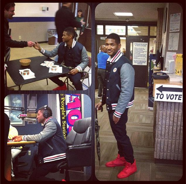 Celebrity News Usher Irritates Atlanta Voters After Moving Ahead Of