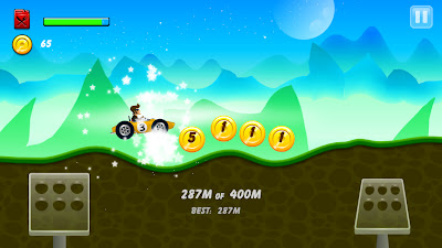 Hill Racing: mountain climb