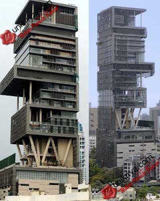 merupakan bangunan yang paling mahal di dunia senilai 2 Milyar US