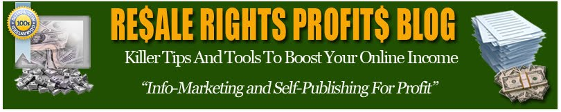Resale Rights Profits Blog
