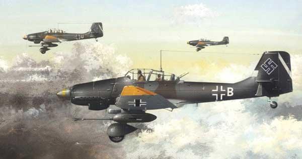 следующей целью Ju-87.