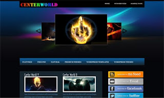 Center World WordPress Theme