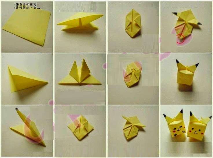 How to make origami pokemon origami flower easy how to make origami pokemon mightylinksfo